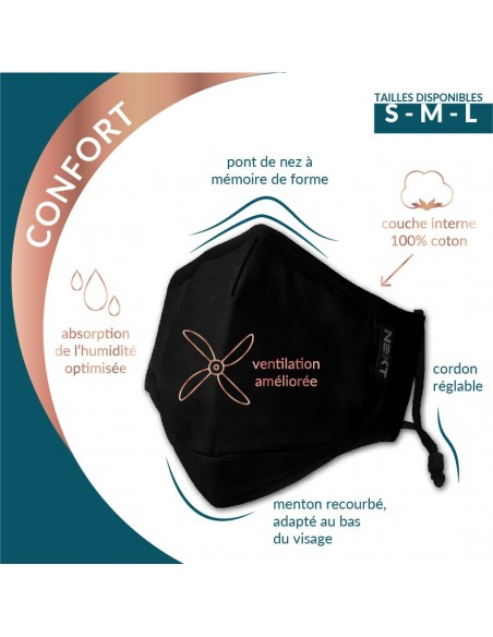 Masque copperprotect - 3 tailles